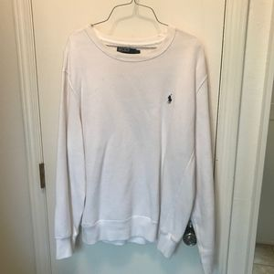 L - Ralph Lauren - White - Sweatshirt